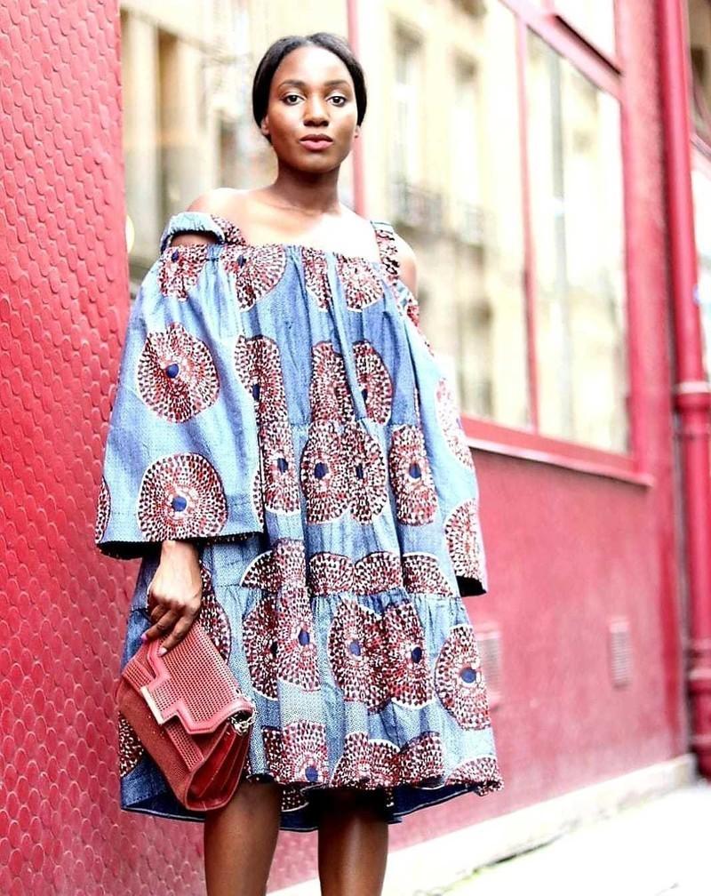 meilleure sélection de 2019 Conception innovante taille 40 Robe caba paysanne in paris - Robes courtes robes evasées, multicolore,  aucun, tenues sexy, wax, pour elle, wax, coton, aucun