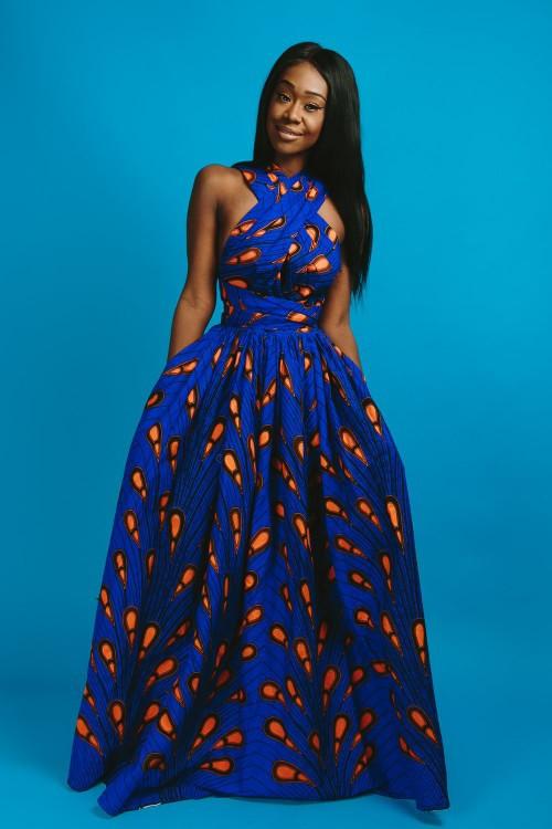 Intégral WaxPour Maxi De Longues Ampoule FormesLook SoiréeCocktailBleuGrande Et Elle Bleue Taille Infinity Robes ON8nXw0Pk