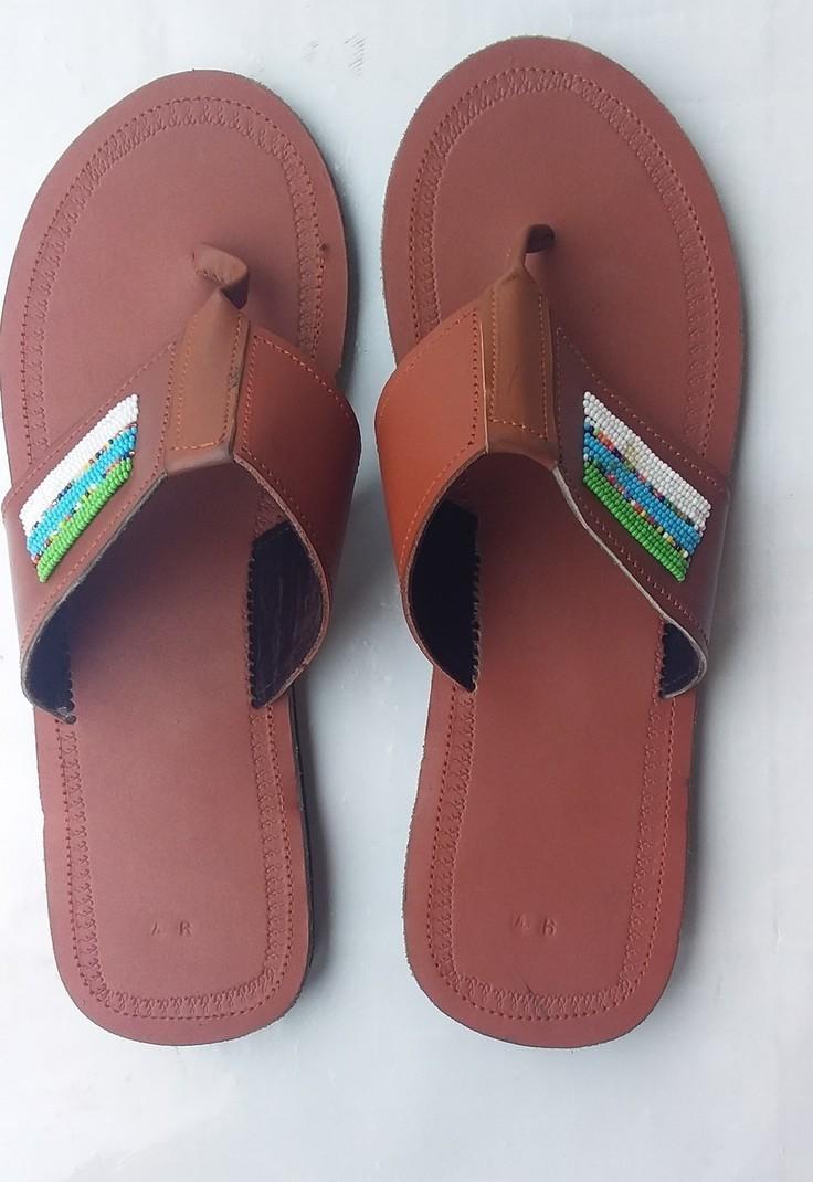 African beaded sandals   maasai sandal   kenyan sandal   African ...