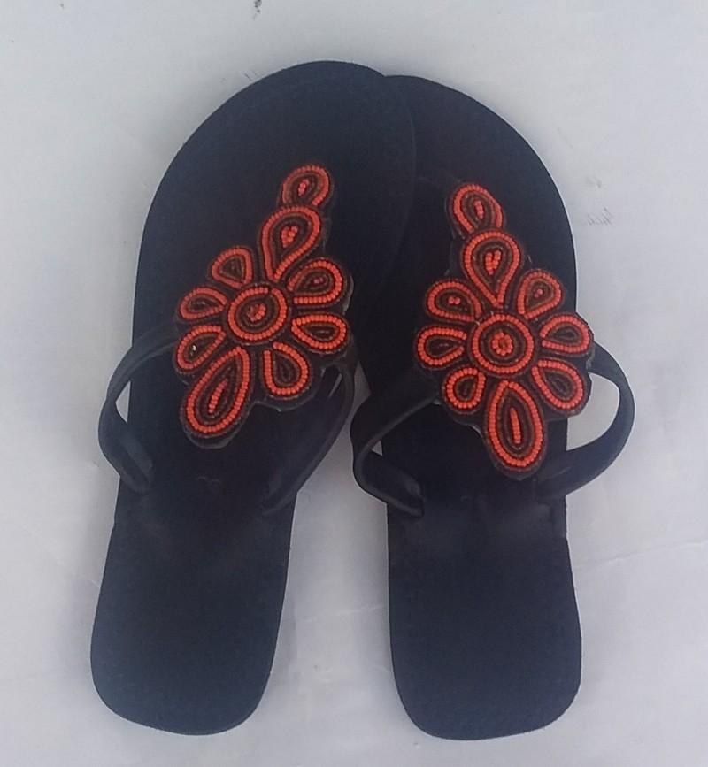 d4837f553 African maasai sandals for women/ kenyan sandals/ beaded sandals/ leather  sandals