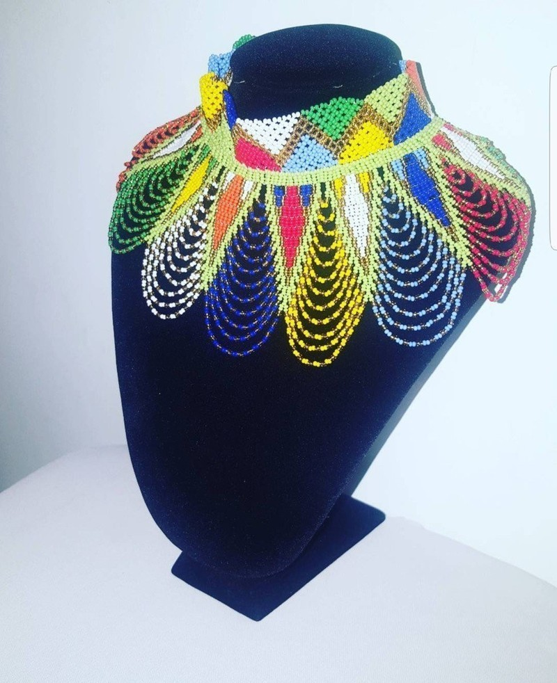 Longs Collier Kenya Colliers Mi EllePerles Maasaï MulticoloreMassaïPour BCedxo
