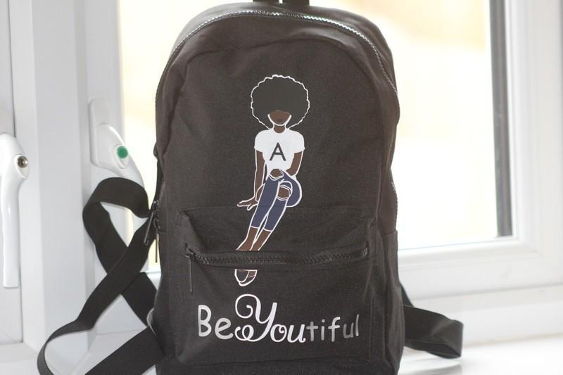 Personalised Initial Printed Rucksack//Backpack Back to School Bag Boys or Girls