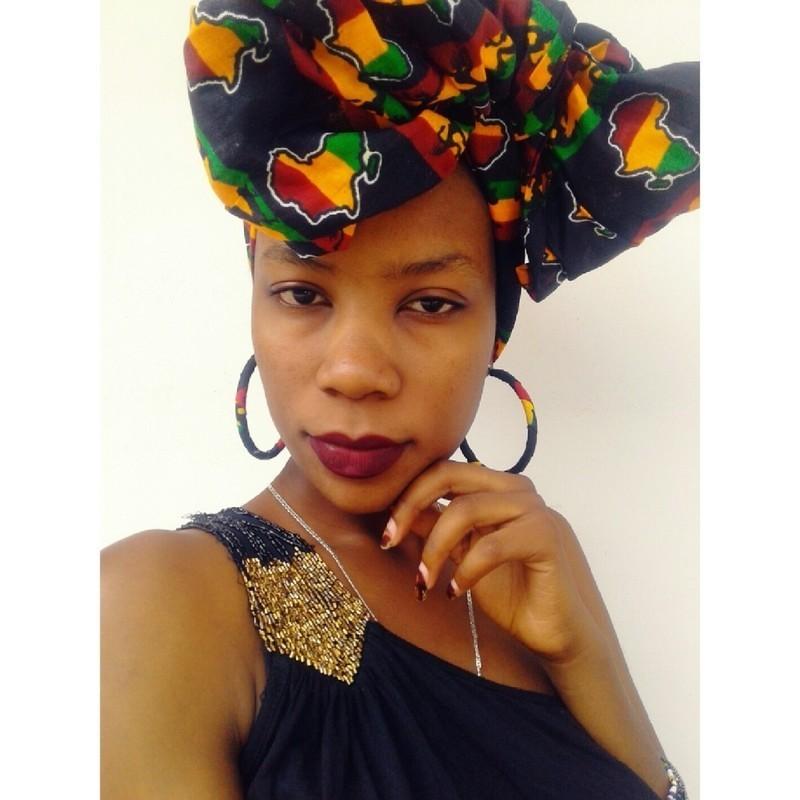 738261855b7d Jamaican Lady par black-house-of-fabi - Turbans et foulards de tête ...
