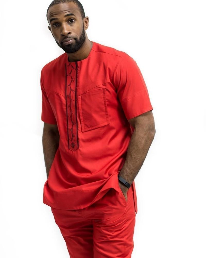 costume africain homme. Black Bedroom Furniture Sets. Home Design Ideas