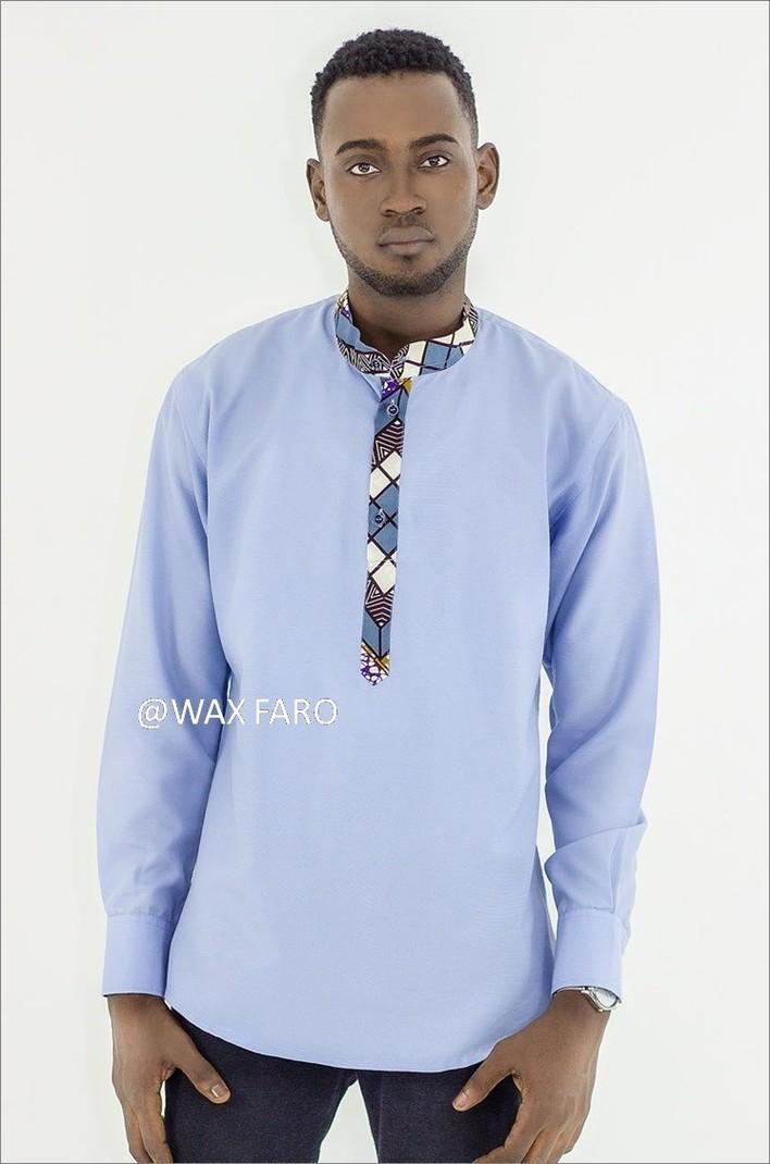 Harald Shirt By Wax Faro Men S Long Sleeve Shirts Afrikrea