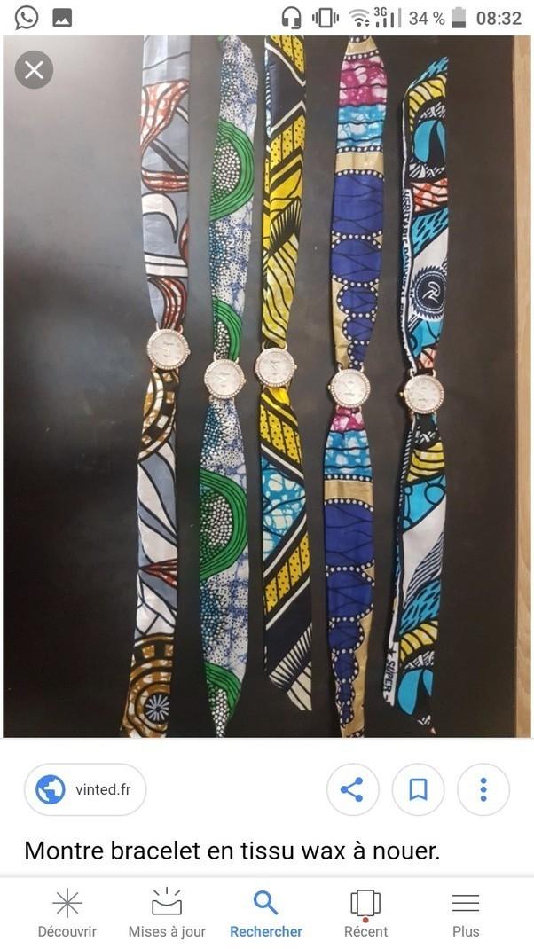 Le pagne par tramania-fashion - Ceintures - Afrikrea e0e8ba2de83