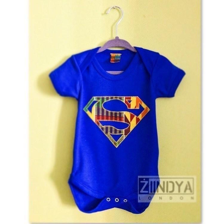 7530d1f17fc40 Body Lil  Z Afro Superman par ziindya - Vêtements Bébé - Afrikrea
