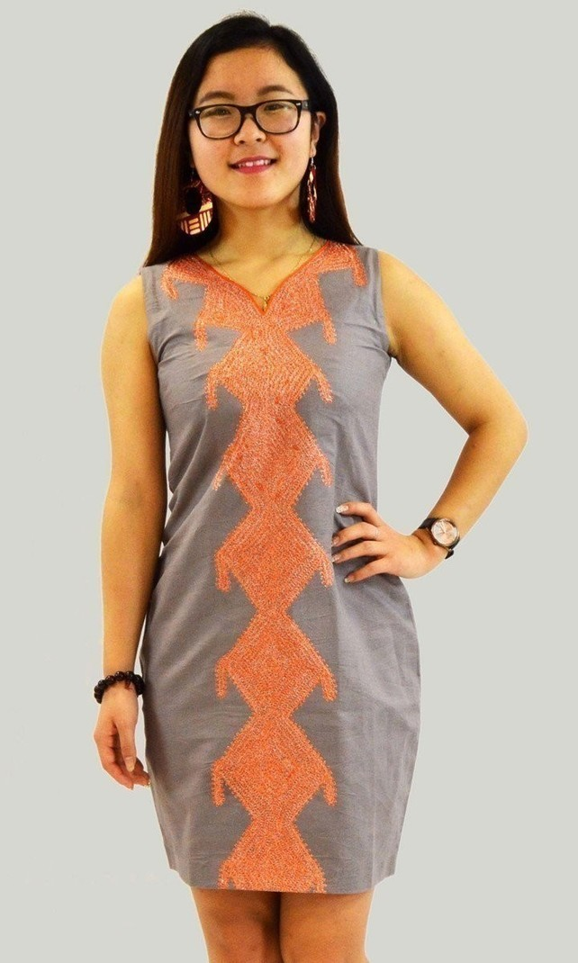 596deed1447a Robe Myriam Makeba par kabangondo - Robes courtes - Afrikrea