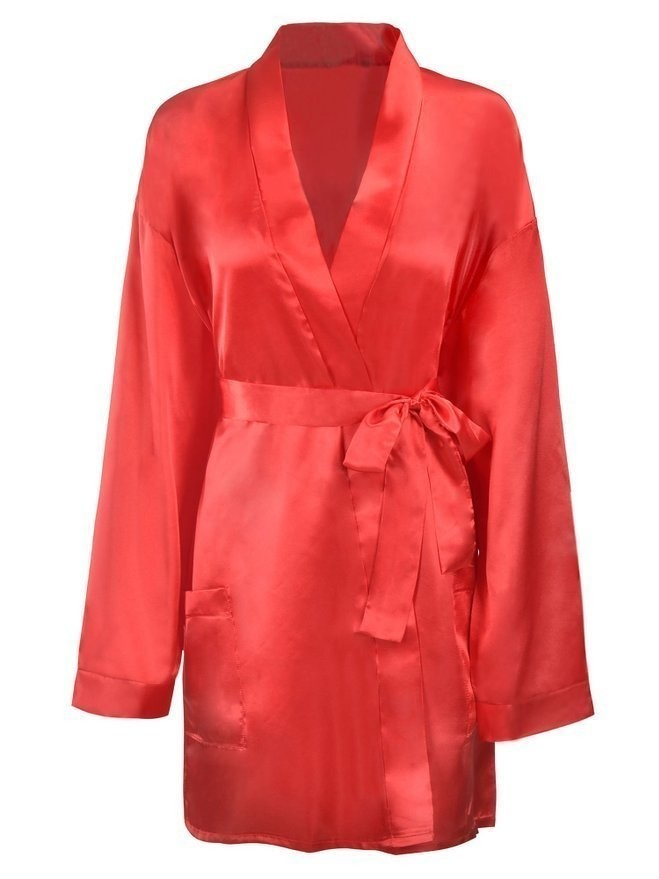 b57da20074 Florencia Love Women s Crepe Satin Robe - Best Bridal or Valentine s ...