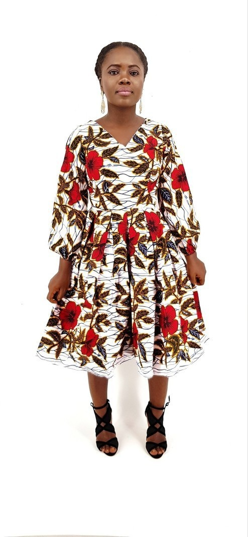 ee4a721463336f Robe africaine Timi, robe de soirée africaine, robe longue, robe ...