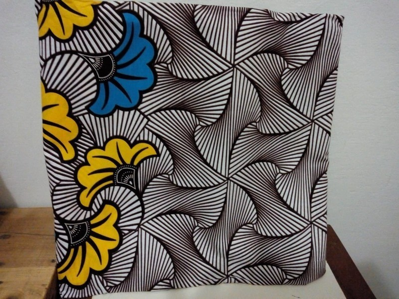 Pagne Wax Fleur De Mariage Par Machabdesign Tissus Wax Afrikrea