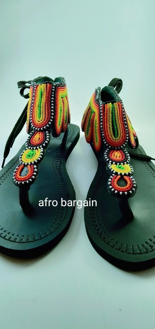 African gladiator sandals beautifully handmade from pure african ...