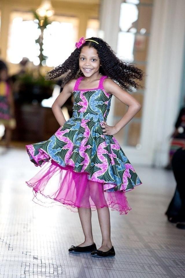 1dac04d79b0 Dresses and Girl Sets. Kids Ankara Dress