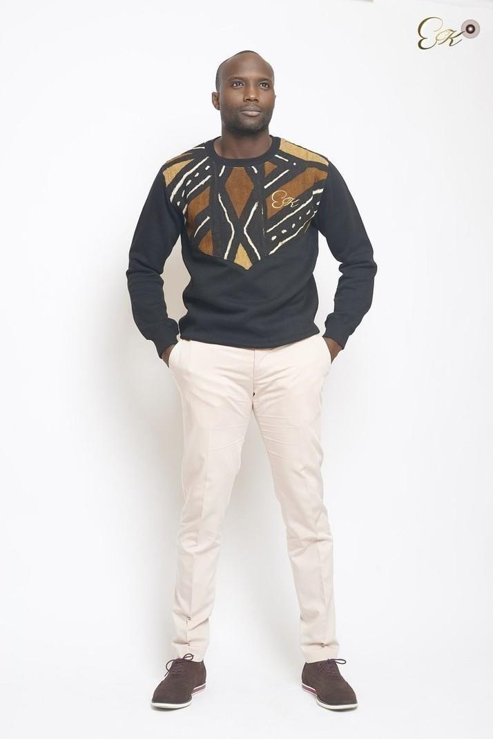 Bogolan sweatshirt by eck - Men Sweat-shirts - Afrikrea 11e064ef966