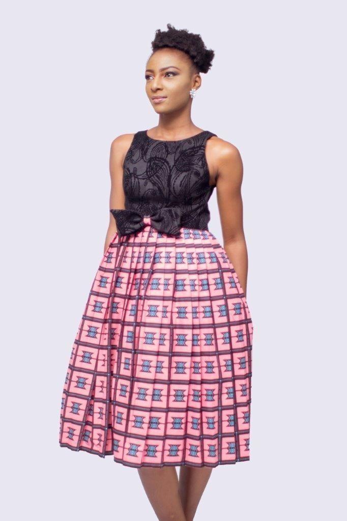 Robe africaine de mélange d impression et de velours c5b43c230a0