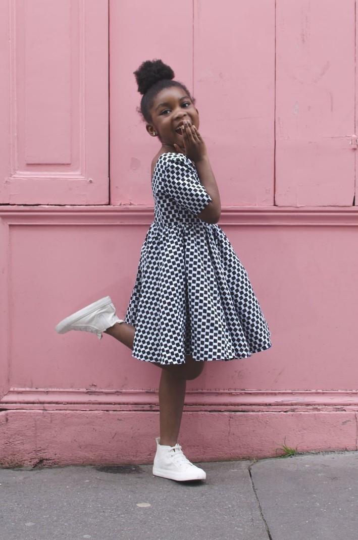 53ccde60d0a26 Robe Dida par mademoiselle-ble - Robes et Ensembles Fille - Afrikrea