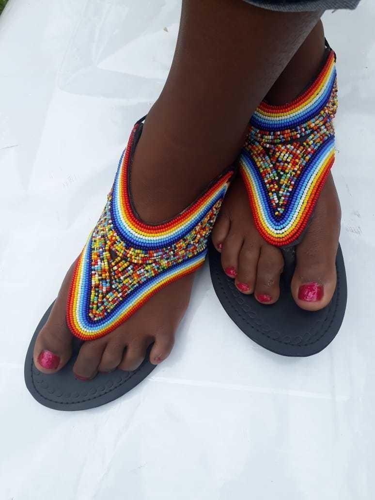 sandales africaines sandales maasai sandales kenyanes