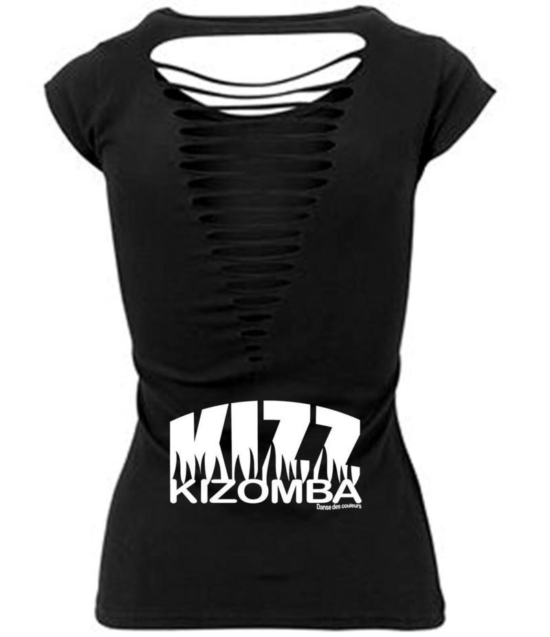 b37c150b8a94b TEE-SHIRT FEMME Collection KIZOMBA par danse-des-couleurs - T-shirts ...