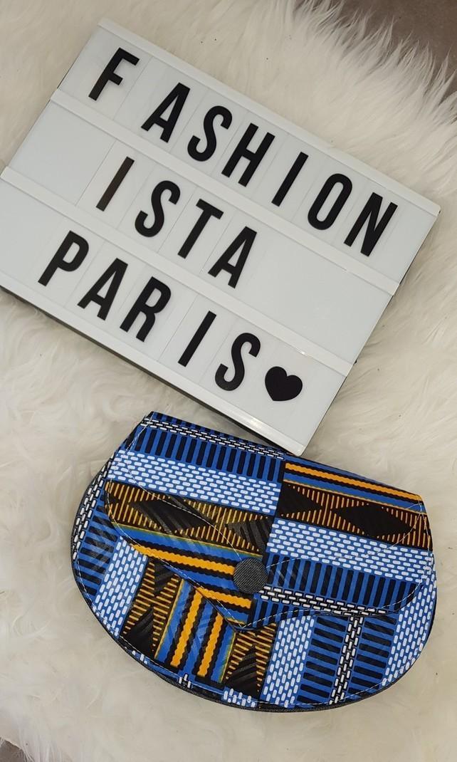 Pochette Wax Denim Fashionista Par Sacs Paris Bandoulière À Et vOmwNn80