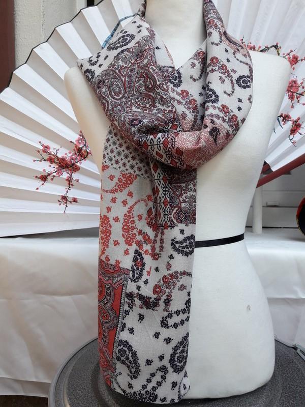 625056af9d31 Foulard Moïra par mamce-couture - Foulards et Chales - Afrikrea
