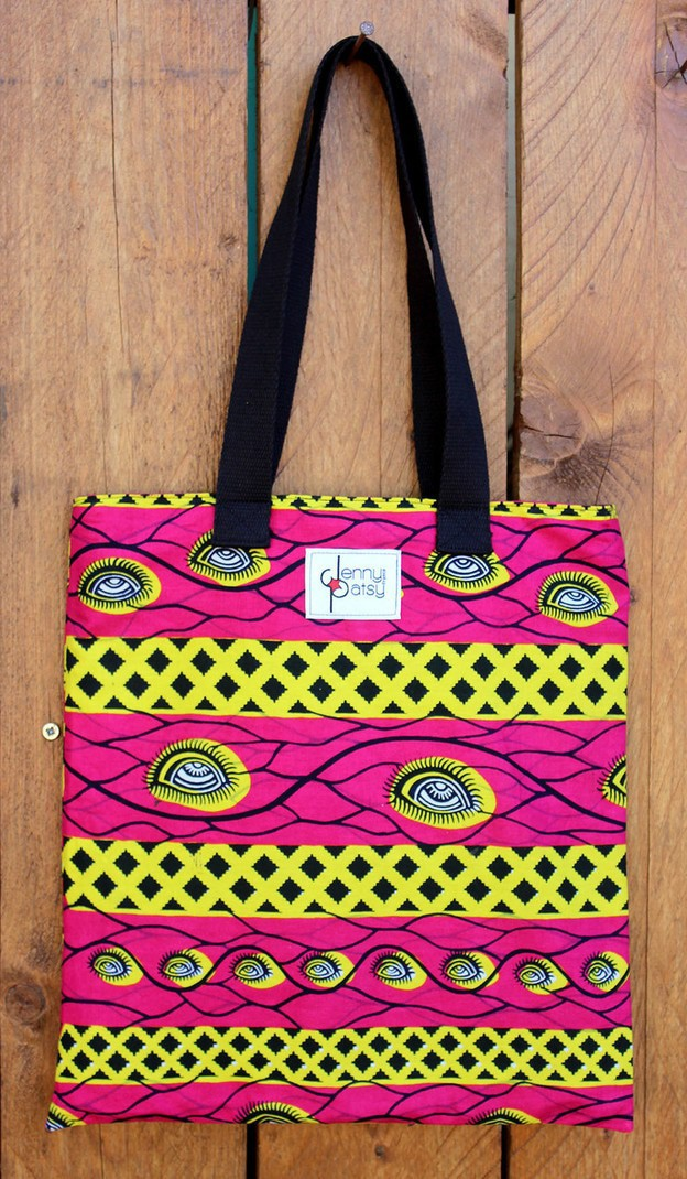 fb20ff0686 Tote Bag Wax [Eyes] by jenny-patsy - Tote bags and beach bags - Afrikrea