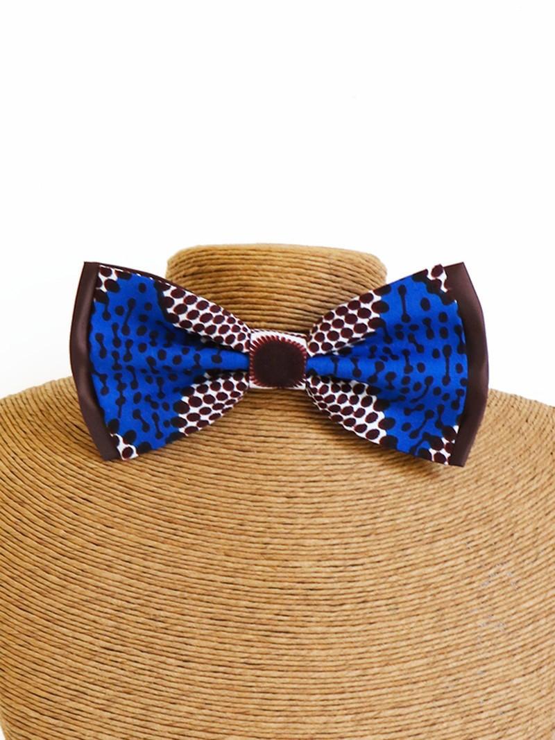 images détaillées qualité et quantité assurées belle et charmante Noeud papillon classic, Wax disques bleu, Noeud africain, Noeud wax, Tissu  africain - Noeud Papillon bleu, , casual, avec une touche de wax, wax, pour  ...
