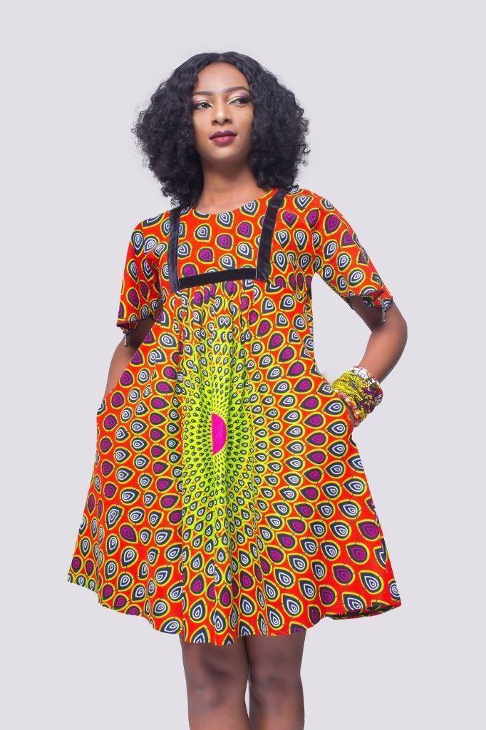 big sale df146 10297 African Print Dress, Ankara Dress, African Womens Clothing, Womens Clot -  Afrikrea
