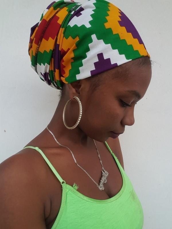 2c44d5c089b6 Kente par black-house-of-fabi - Turbans et foulards de tête - Afrikrea