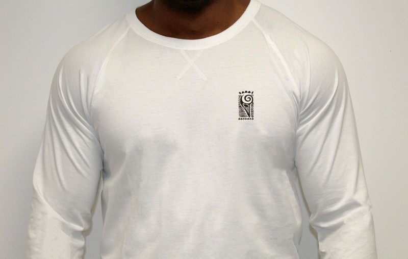 Sweat Shirt Blanc par ankhera - Sweat-shirts Hommes - Afrikrea 40523da2b0d3