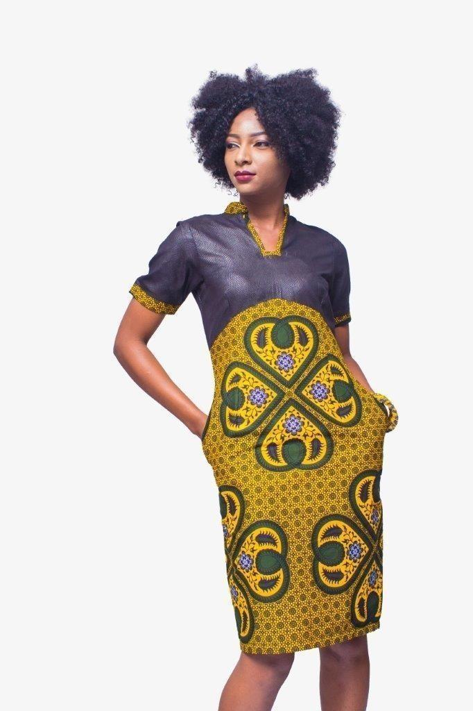 aa077e21209f89 African Print dress