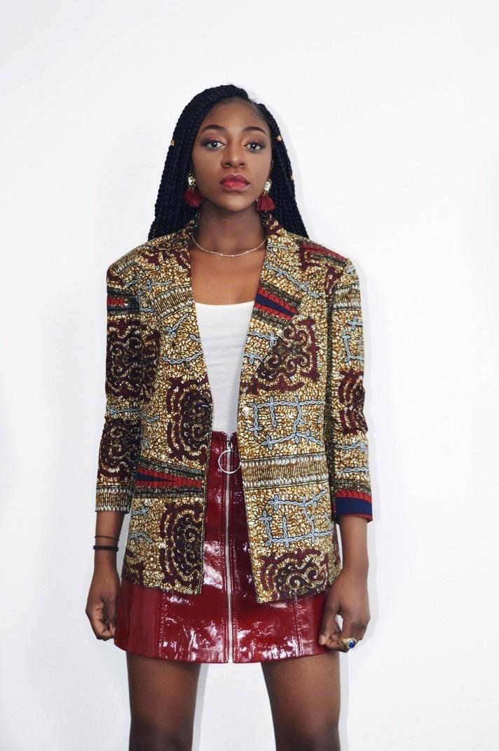 5a2313af1d91 Blazer in Wax by sosoden - Blazers - Afrikrea
