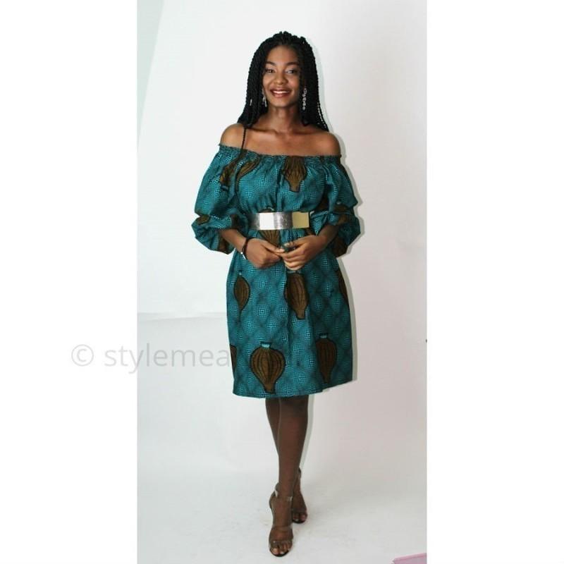 c8245cb3d54f4c African dress, African print dress, African midi dress, Ankara off ...