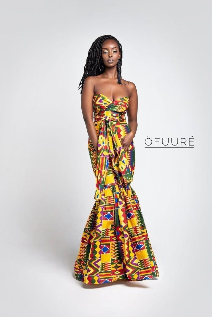 0e436a7137bdf DEOLA MERMAID MAXI Infinity par ofuure - Robes longues - Afrikrea