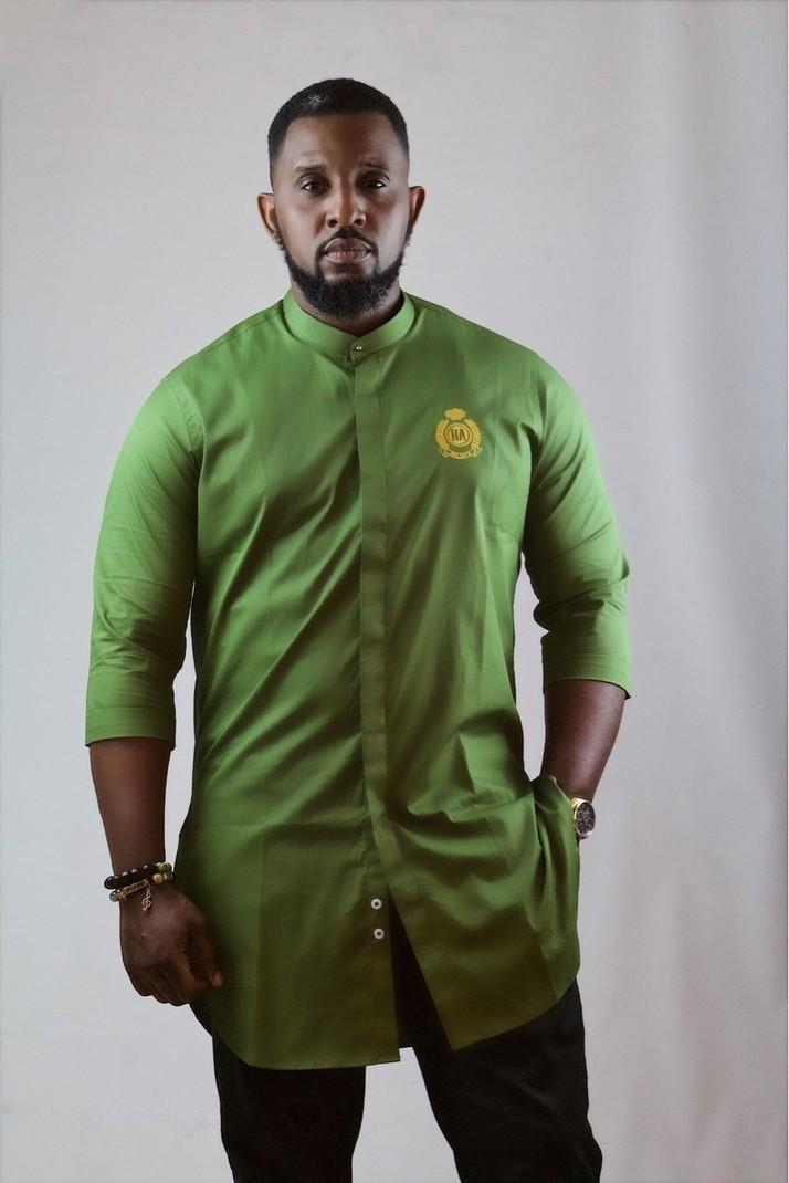 195f79d7a16 Heart Angel Green Short Sleeve Tunic by heartangel - Men's Short ...