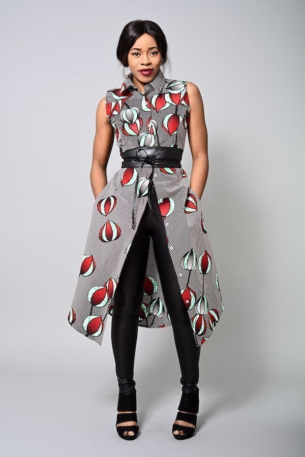 62701a83a90408 Alder shirt dress - Kitenge shirtdress by nevice - Short dresses ...