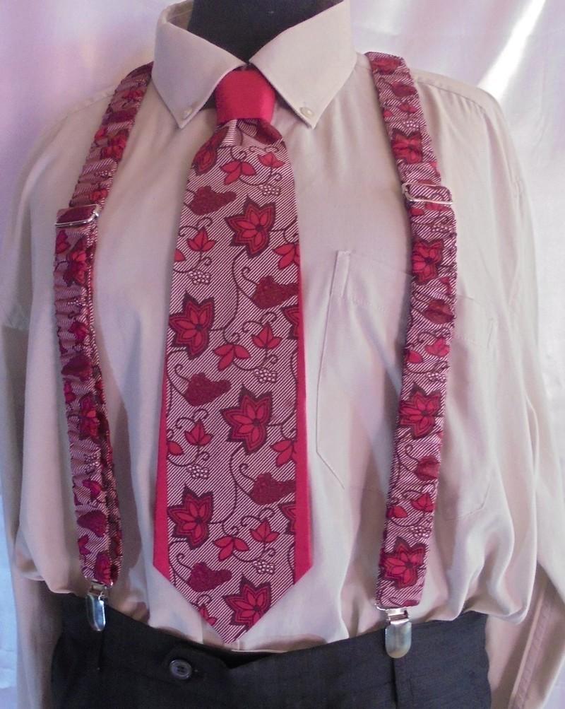 9897236512577 Cravate & bretelles Hommes en Wax par africamix - Cravates ...
