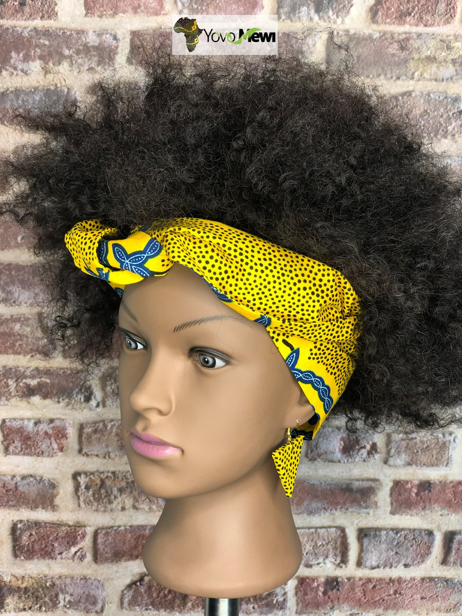 0cd047bc1667 Head Band Set Earrings by yovo-mewi - Headwraps - Afrikrea