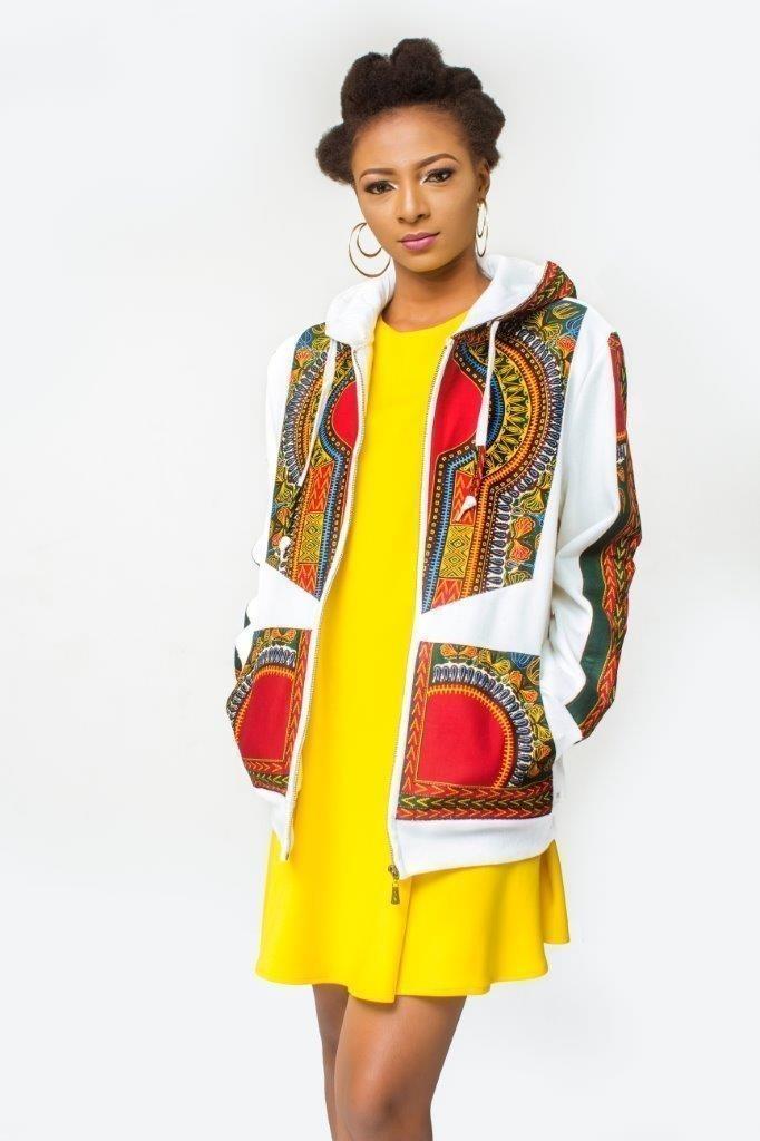 Addis Bombers AfricaineDashikiAnkaraUnisexe Veste Imprimée AbebaPour BeigeTallStreetwearCasualDashiki Elle UzVSMqp