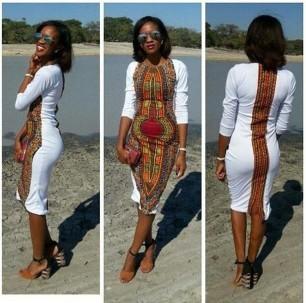 Robe blanche Mama 3 4 Addis-Abeba par articles-addis-abeba - Robes ... e784581d5d6