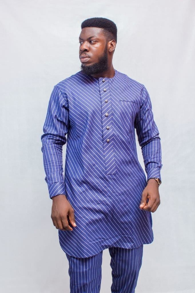 fbaea9c1 African Men Clothing, African Prom Suit, African Mens Wear, African ...