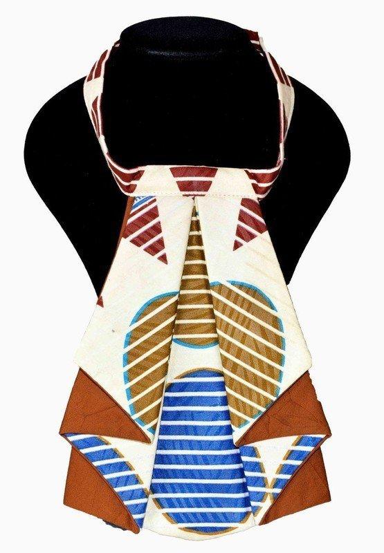 28be773ef521b Cravate femme en wax par kabangondo - Cravates - Afrikrea