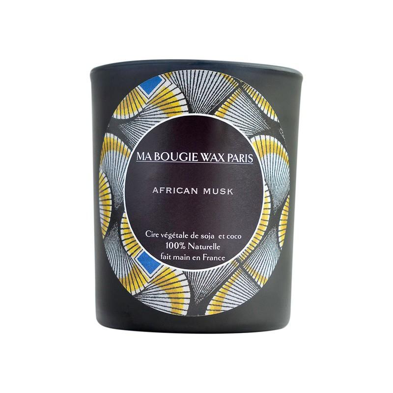 AFRICAN MUSK Bougie parfumée 160gr 40 45h par mabougiewaxparis ... cb741992f97