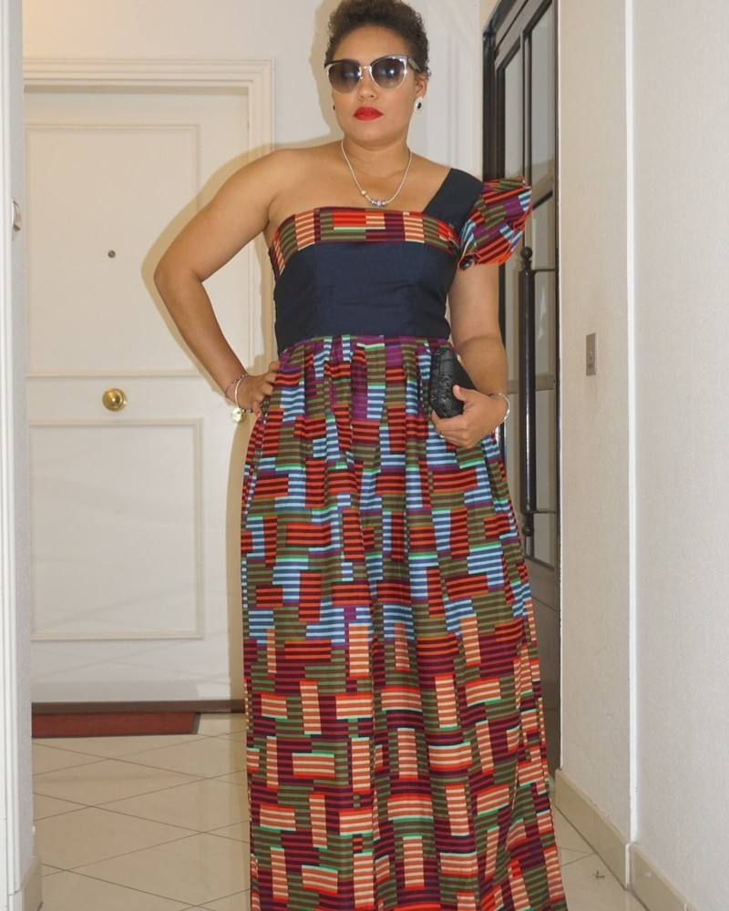 7f38d18c3ae Robe Nana par kunzwax - Robes longues - Afrikrea