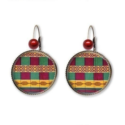 Boucle d oreilles bronze Kenté  BOK5 par nappy-style - Bo pendantes ... 3b10b1dd066