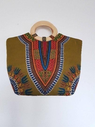 Cabas À Fashionista Paris Main Par Dashiki Sacs Afrikrea Sac qMSVpUz