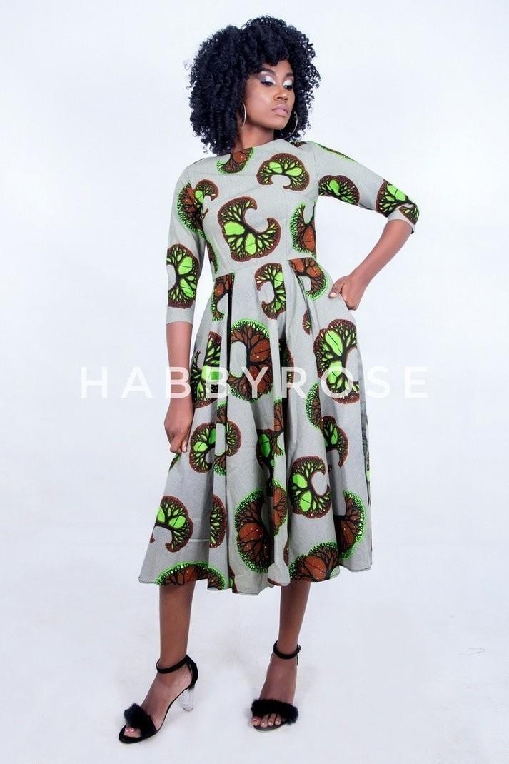 7a2b6648f59679 Robe Sonia avec poches, robe de soirée africaine, robe Maxi, robe ...