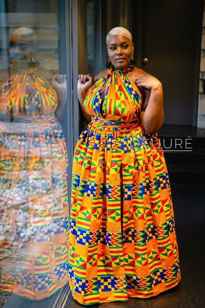 3a2dc4aa33c ZINA MAXI INFINITY par ofuure - Robes longues - Afrikrea