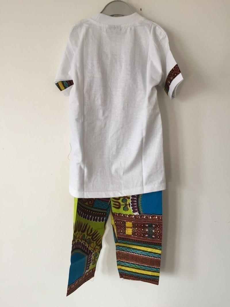 Dashiki Par Paris Pantalon Ensemble T Shirt Fashionista qwxtf7T