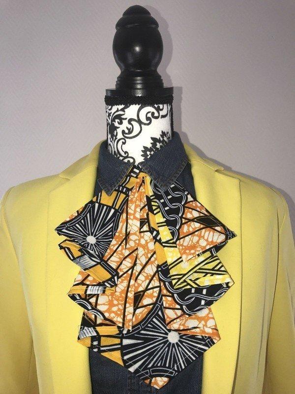d95779e63f152 Cravate wax femme MALIA par wax-chic-creation - Cravates - Afrikrea