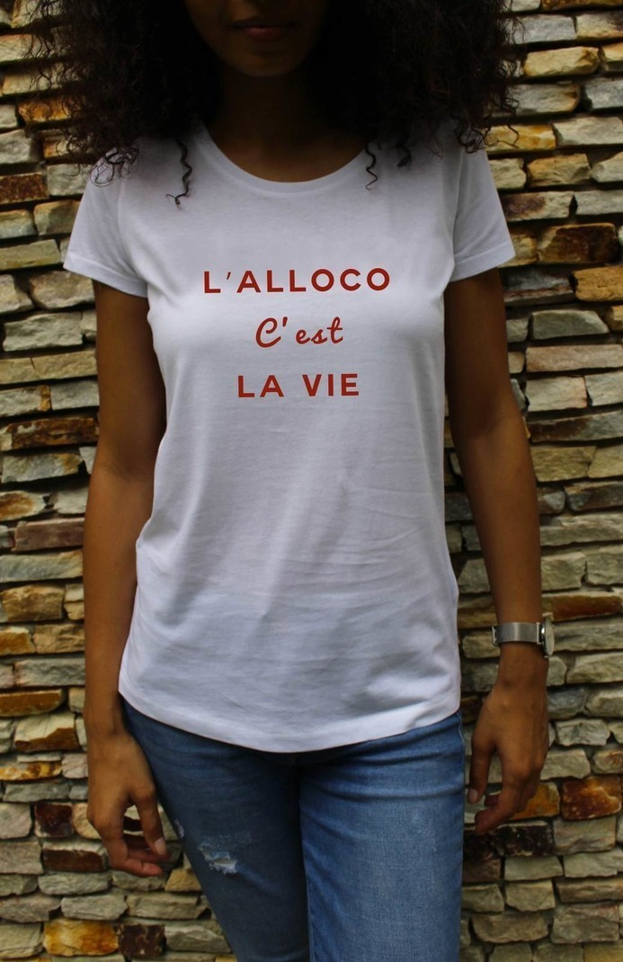 1f15932f88f T-shirt - The alloco is life by wear-dklm - Women T-shirts - Afrikrea